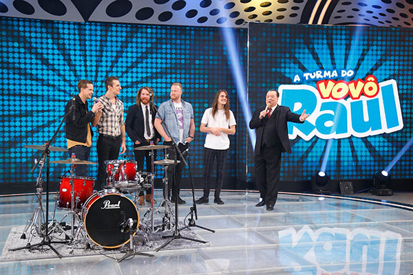 The Maine participa do Programa Raul Gil