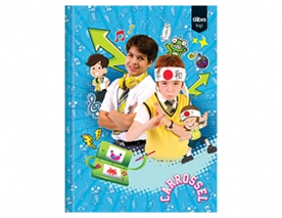 Caderno Brochura Capa Dura Universit�rio  Top