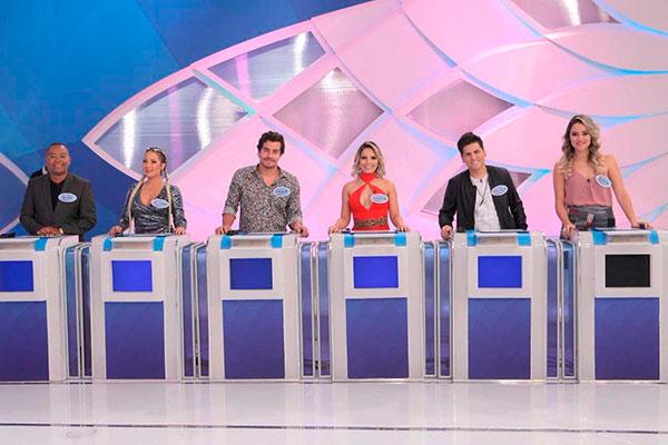 Participantes no jogo Disputa Musical