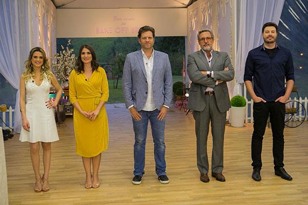 Beca Milano, Carol Fiorentino, Carlos Bertolazzi, Fabrizio Fasano Jr e Danilo Gentili