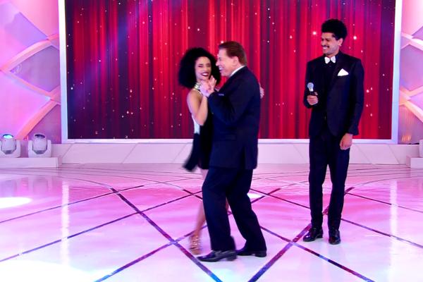 Concurso de Dança no Programa Silvio Santos