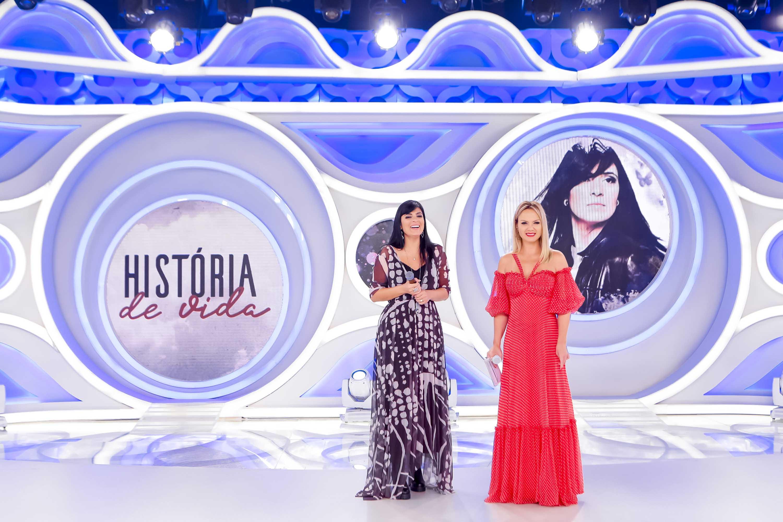 Fernanda Brum faz revelações de sua história de vida no programa Eliana deste domingo (7)