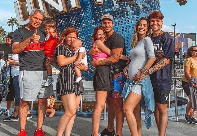 Márcio Poncio Família Poncio Saulo Gabi Brandt
