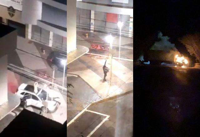 Quadrilha usa escudos humanos para atacar bancos em Araçatuba; Assista -  Brasil - SBT News