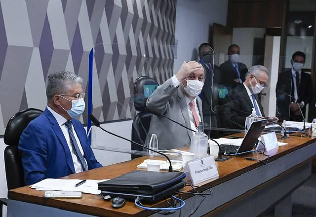 Reunião de cúpula da CPI da Covid define reta final dos trabalhos